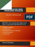 Investigación Para Problemas Sociales