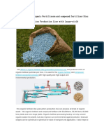 5 Ton/h Organic Fertilizer and Compound Fertilizer Disc Granulation Production Line