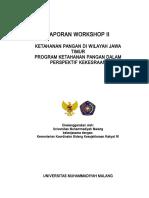 Laporan Workshop II