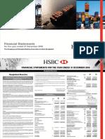 HSBC Financial Statements 2016