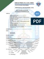 Estructura de Plan de Tesis Universidad Peruana Los Andes 2019