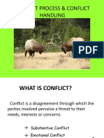 Conflict Process and Conflict Handling