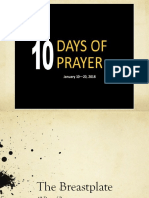 10 Days of Prayer - Breastplate