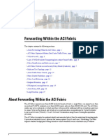 Forwarding Within the ACI Fabric