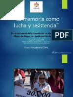 CEAAL participa en marcha de las Abuelas de la Plaza de Mayo