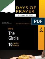10 days of prayer the girdle.pptx