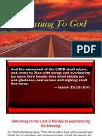 Returning To God.ppt