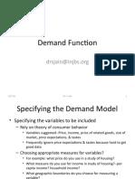 08 Demand Function