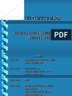 Adr Basic Overview