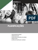 Planificações espanhol 8º ano