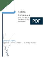 Analisis Documental (1)