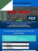 head Injury Icm 2 Harsan