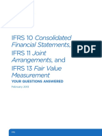 IFRS 10 Consolidated Financial IFRS 11 Joint Arrangements and IFRS 13 Fair Value