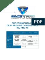 INV-PRO-16 (V4)Procedimiento de Descarga de Combustible