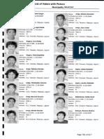 001 Voters List, LAGUNA, Alaminos, Poblacion 1, Precinct 001A