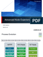 Advanced Node Experience from cadence