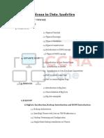 Data Analytics Syllabus Download Syllabus