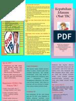 Leaflet Edukasi Kepatuhan Minum Obat TB Titis Trijayanti Tk.3