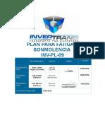 INV-PL-09 (V02) Plan Para El Control de La Fátiga y Somnolencia