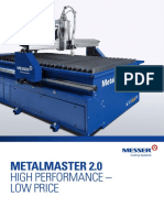 MetalMaster 2.0 - Economical Plasma & Oxyfuel Cutting Machine
