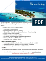 Job Advertisement 14112018