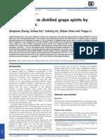 SO2 Reduction in Distilled Spirtirs