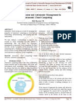 Cloud Intrusion and Autonomic Management in Autonomic Cloud Computing