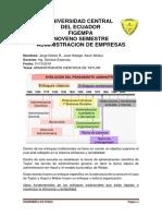 ADMINISTRACION CIENTIFICA DE TAYLOR