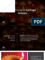 Significance of Karthigai Deepam
