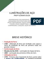 ESTRUTURA DE AÇO AULA 01