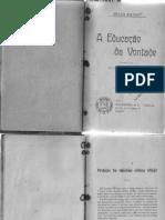 Jules Payot Educação da Vontade.pdf