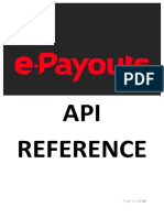 e Payouts API Documentation Es