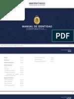 Manual de Identidad Corportiva Fiscalia Peru 2016