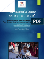 CEAAL participa en marcha de las Madres de Plaza de Mayo Línea Fundadora
