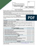 Pauta de Evaluación Booktuber El Diario de Ana Frank