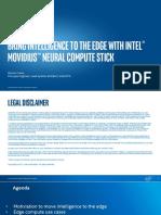 Movidius Neural Computer Stick