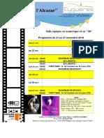 Programme Cinéma 47