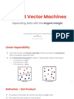 6. Support Vector Machines