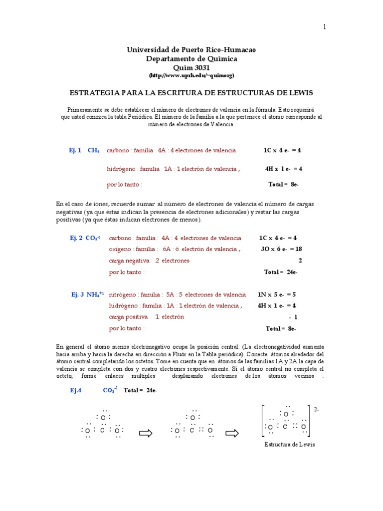 Estructura de lewis urtaz Images