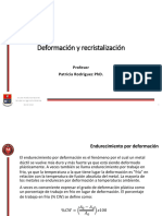11 Deformacion y Recristalizacion