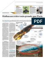 Hallan Un Cráter Más Grande Que París
