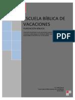 Escuela Biblica de Vacaciones - Manual