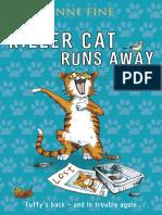 Anne Fine - Killer Cat 06 - The Killer Cat Runs Away