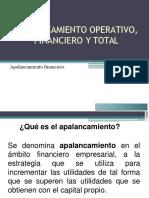 Apalancamiento Operativo Financiero y To