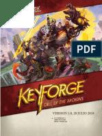 Keyforge Reglas Completas v1 (julio, 2018)