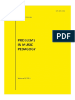 Daugavpils University Problems Music Vol8 Pedagogy