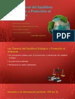 Ley General DeL Equilibrio Ecológico y Protección Al