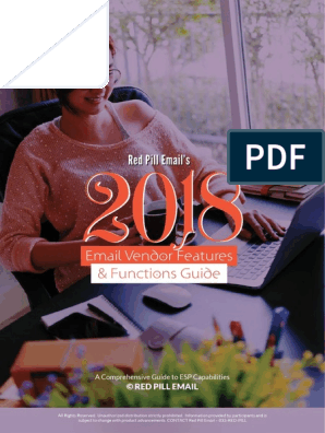 2018 Email Vendor Guide By Red Pill Emailpdf Software As