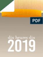 Dix Heures Dix 2018
