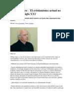 Willigis Jäger - El cristianismo actual no entra en el siglo XXI.pdf